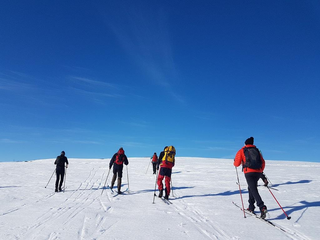 Norsk Friluftsliv - Skitur med venner i Valdres vinter 2018.