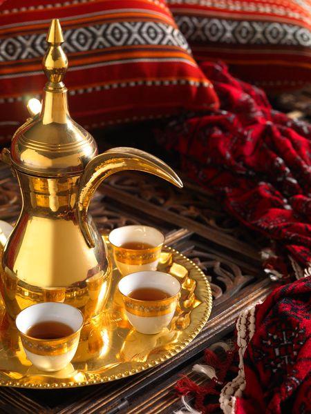 Arabic coffee and cups - Dubai - De forente arabiske emirater - UAE
