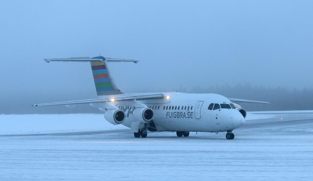 Scandinavian Mountains Airport - Første landing - BRA - 22. desember 2019