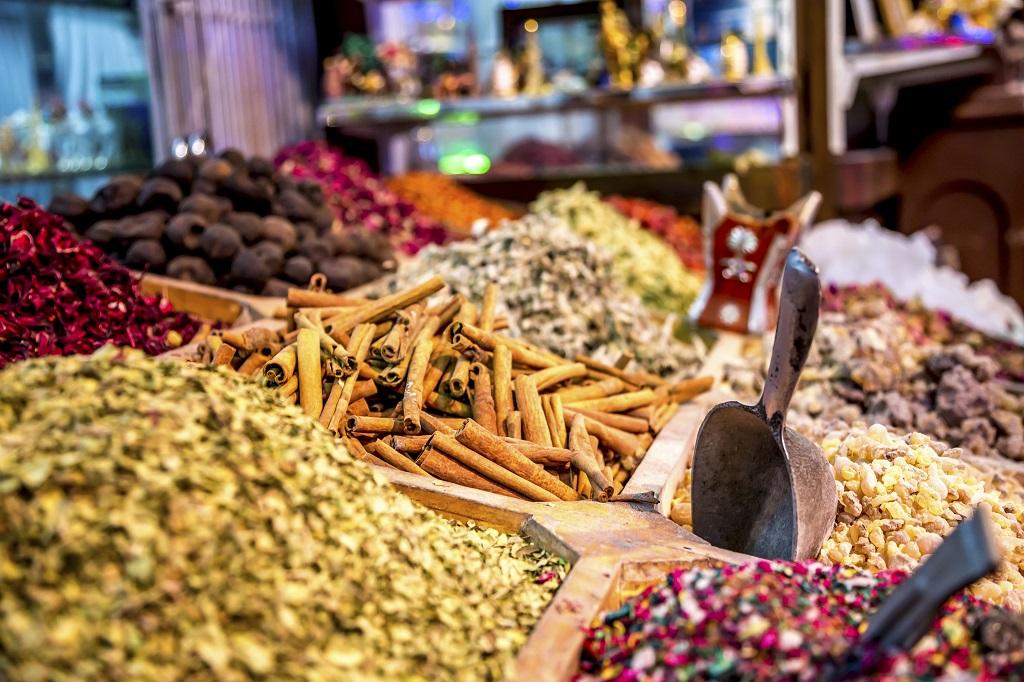 Dubai Spice Souk - Dubai -De forente arabiske emirater - UAE
