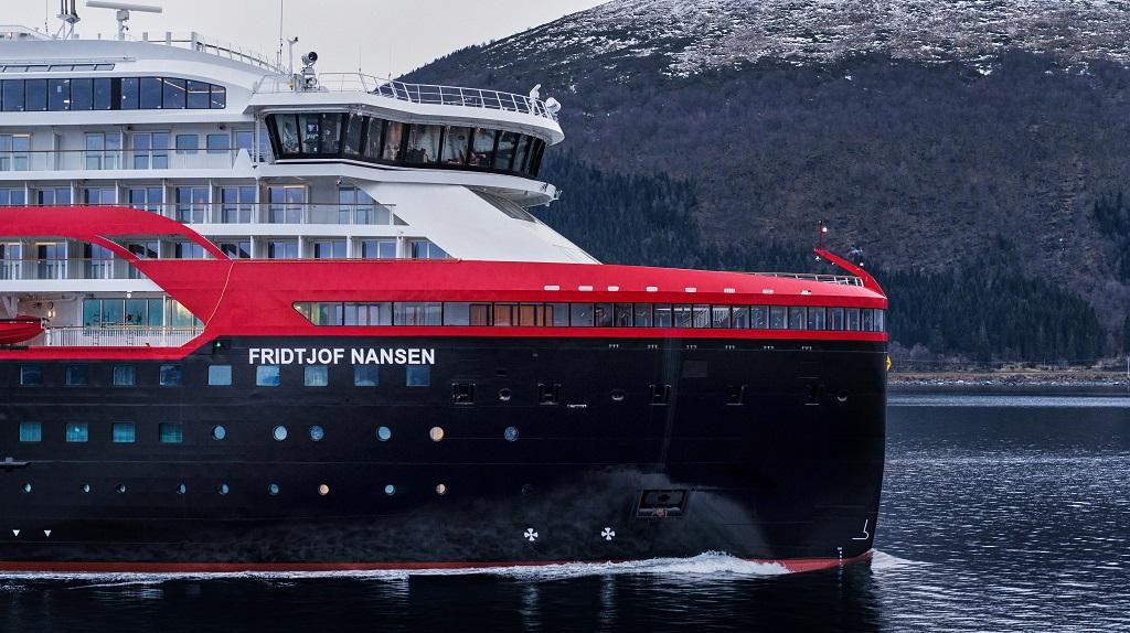 MS Fridtjof Nansen - ekspedisjonscruiseskip - Hurtigruten - Kleven Verft - 2019