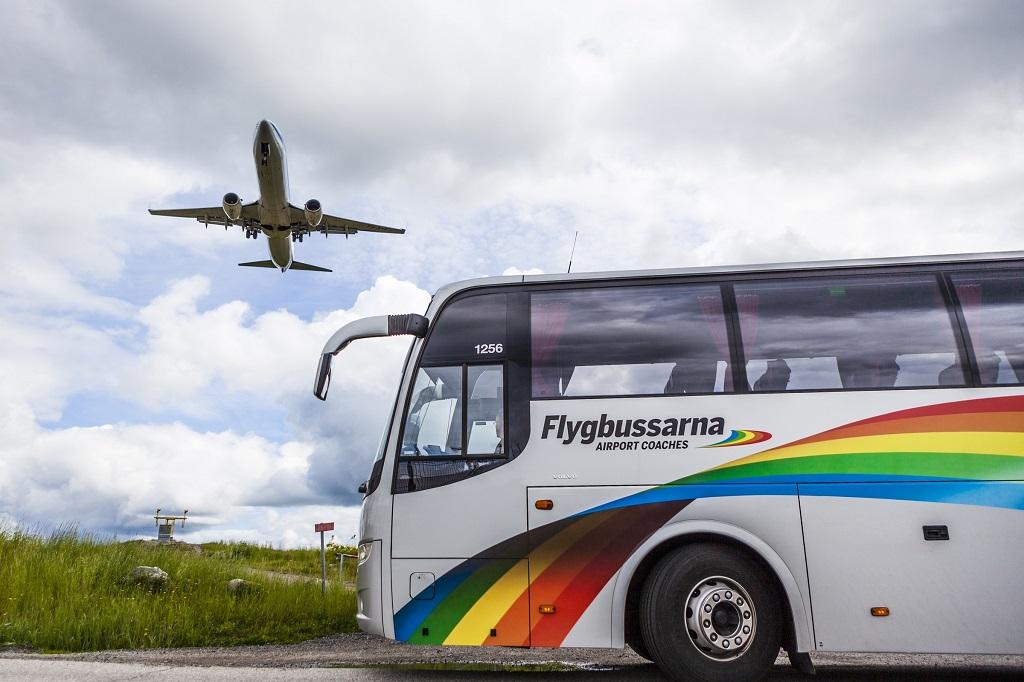 Flygbussarna - Sverige - Transdev - Vy - salg - 2019