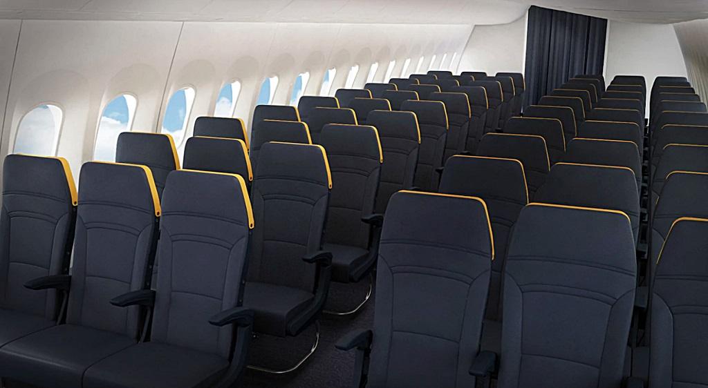 Ryanair - Boeing 737MAX - Interiør