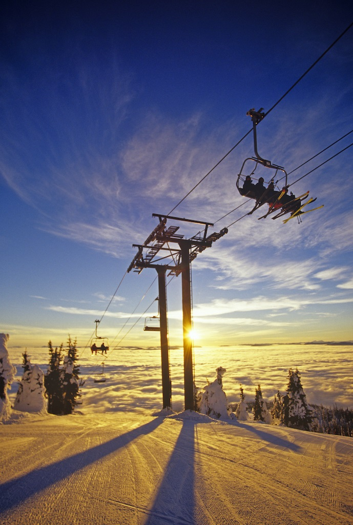 Skiheis - Whitefish Mountain Resort - Montana - USA