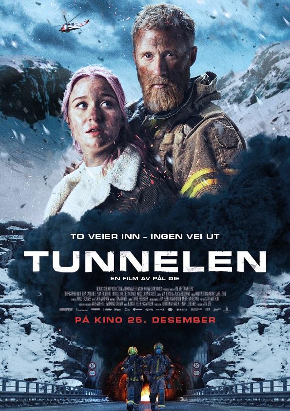 """Filmplakat """"Tunnelen"""" 2019"""