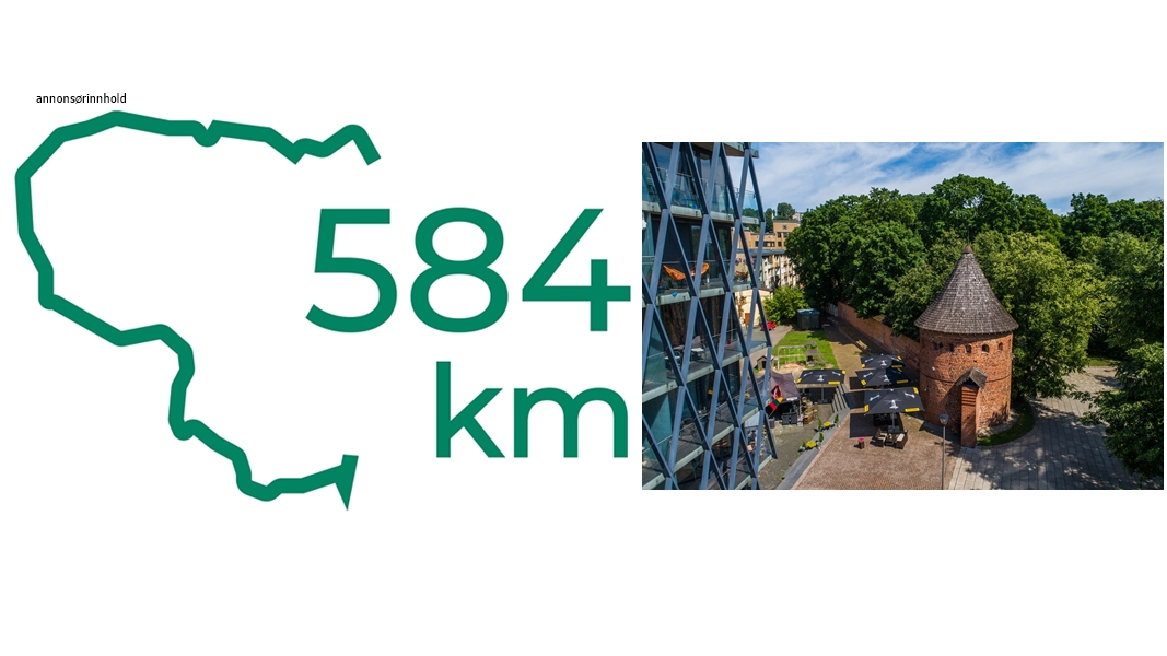 Toppbilde - 584 kilometer Litauen: Kulturbyen Kaunas – Litauens hjerte