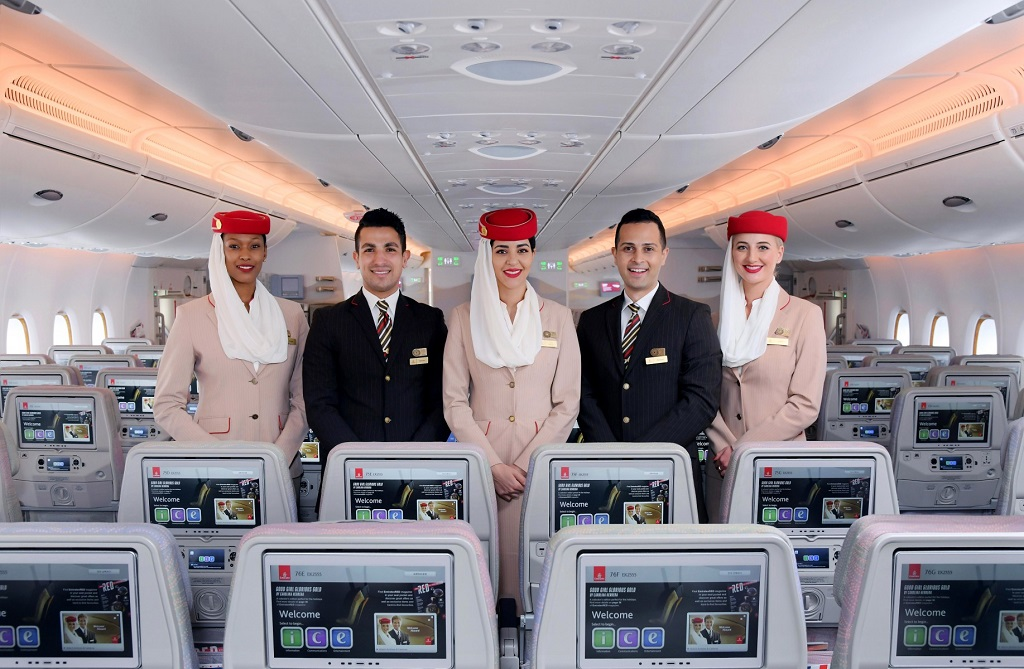 Emirates - kabinansatte - World Travel Awards - 2019