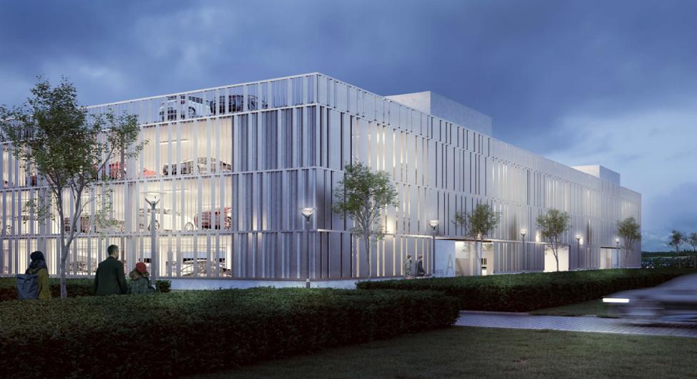Billund lufthavn - Parkeringshus - byggestart 2020