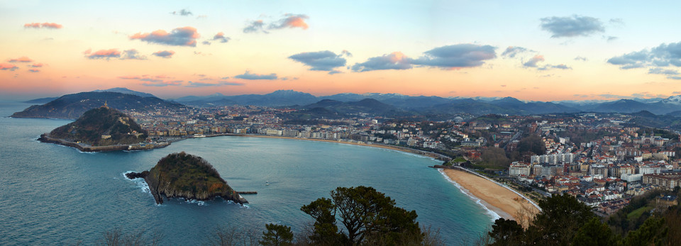San Sebastian - Baskerland - Spania - Biskayabukta