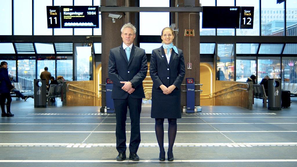 Go-Ahead - Togselskap - Uniformer - Konduktører - Lokomotivførere -Sørtoget - 2019