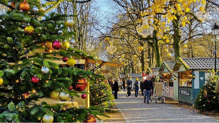 Julemarked - Genève - Sveits