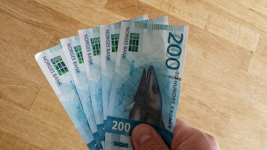 Pengesedler - Norske 200 kroners - Leading web solutions
