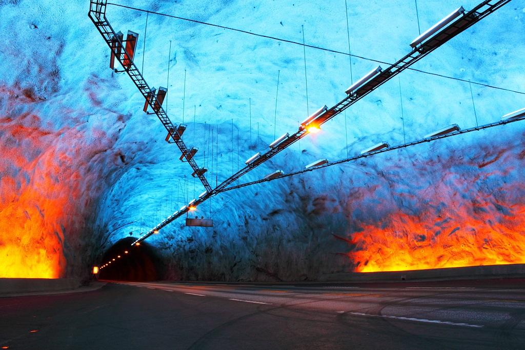 Tunnelbrann - Verneutstyr - Brannmannskaper - 2019