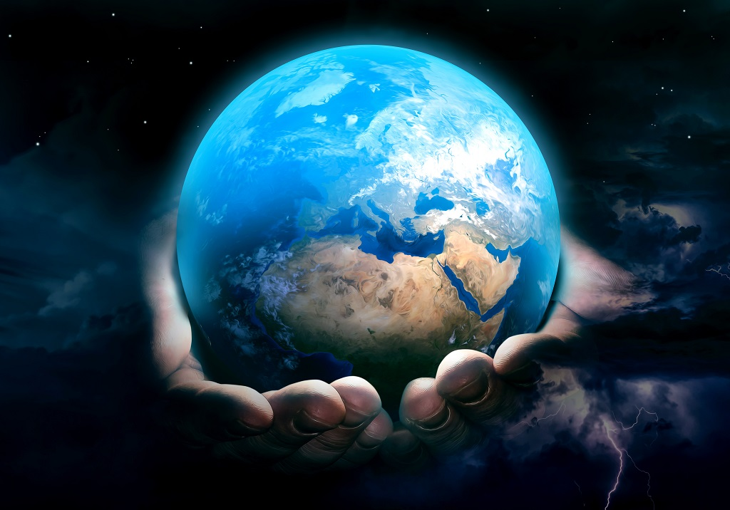 Earth in God's hands - Jorden i Guds hender