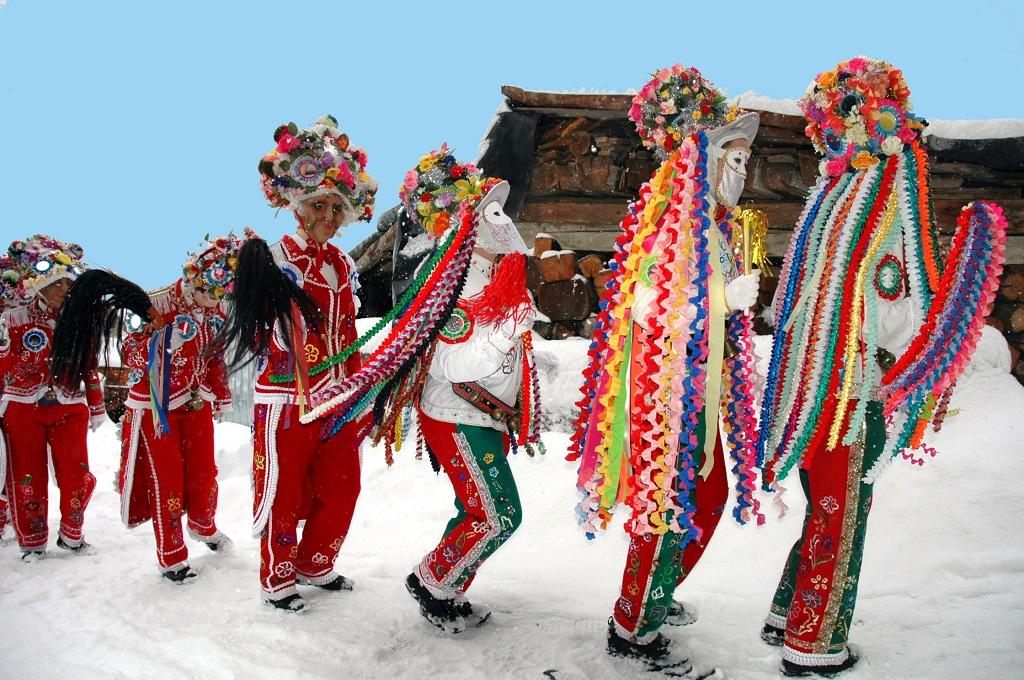 Carnevale di Allein - Aostadalen - Italia