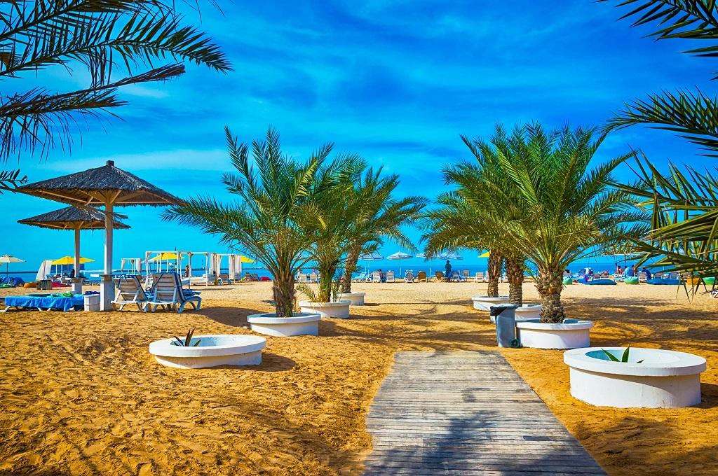 Strand - Ras al Khaimah - UAE- Forente Arabiske Emirater