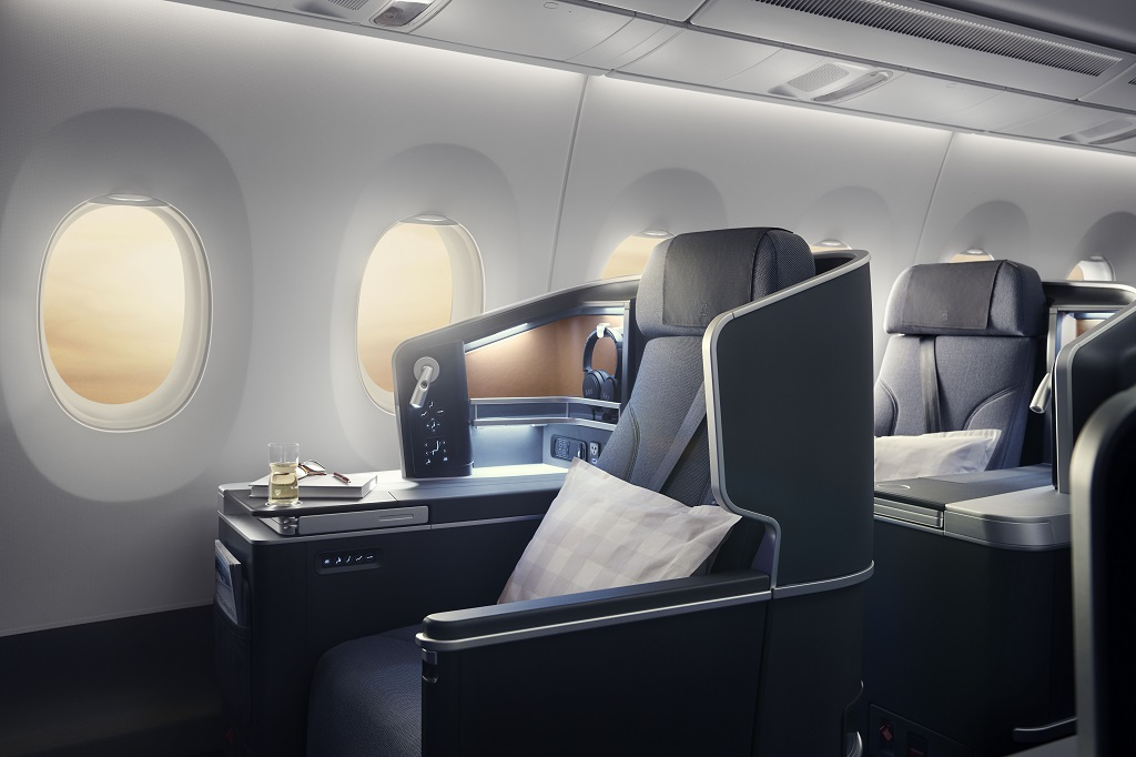 SAS -Airbus A350XWB - Nye seter - Business Class