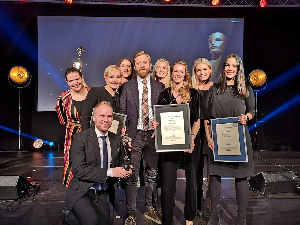 HSMAI Awards 2020 - Markedsavdelingen i Scandic Hotels Norge