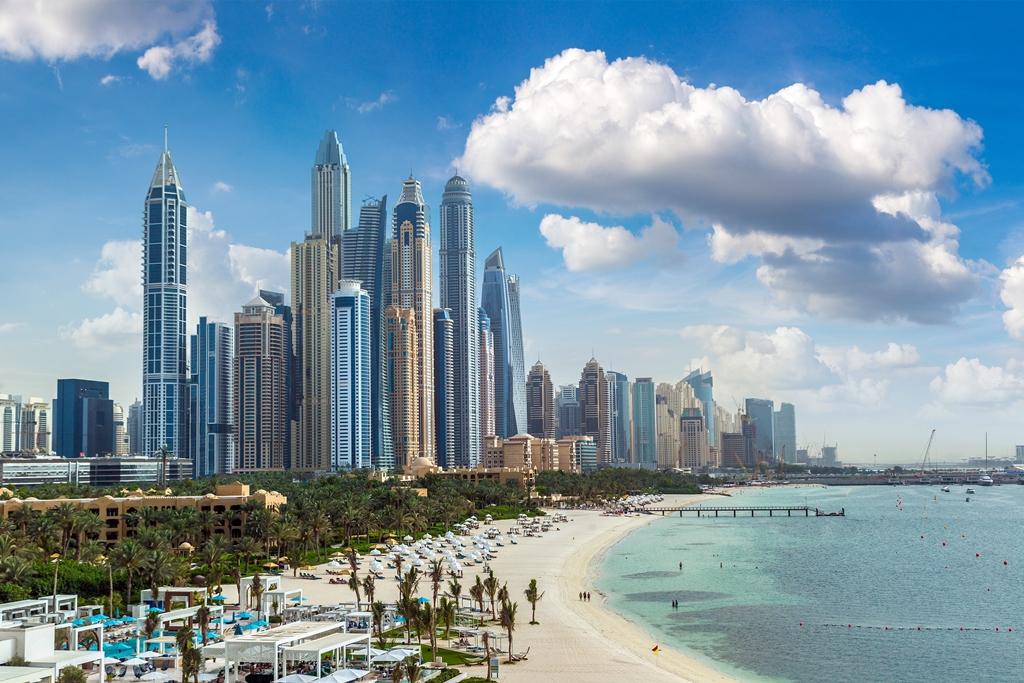 Dubai marina - UAE - Emiratene