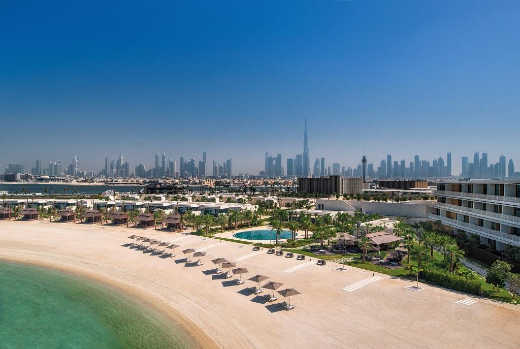 Bvlgari Hotel & Resort Dubai - Dubai skyline