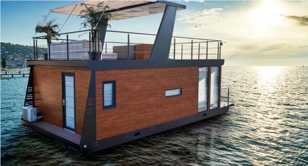 Bravia - MarinaVilla - husbåt - campingvogn på sjøen - Ferie for Alle 2020