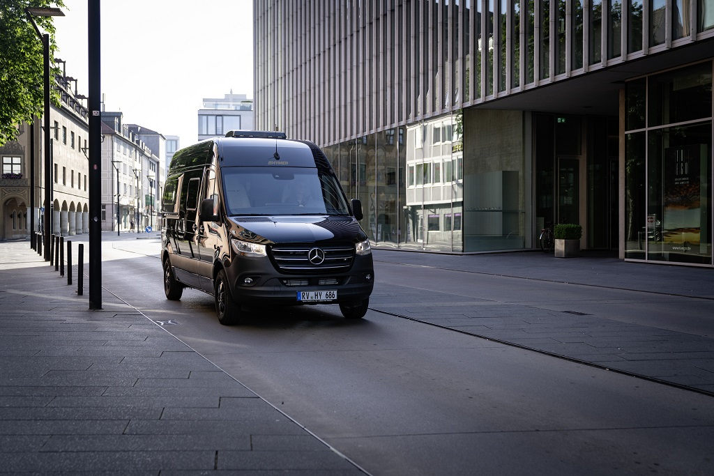 Hymer Free S 600 - Bobil - Mercedes chassis