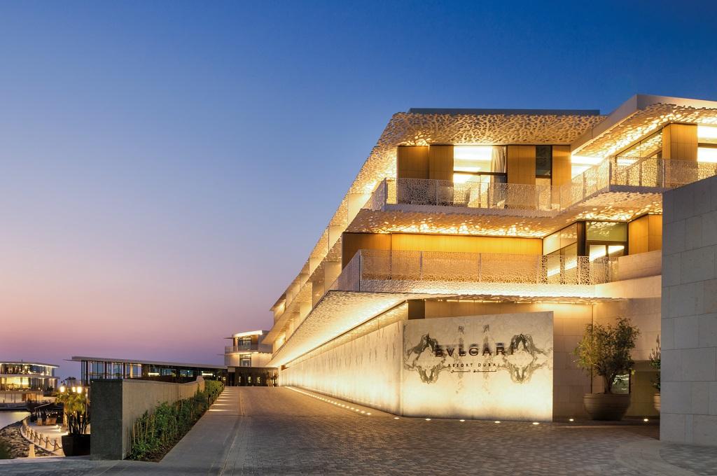 Bvlgari Hotel & Resort Dubai -Inngangen