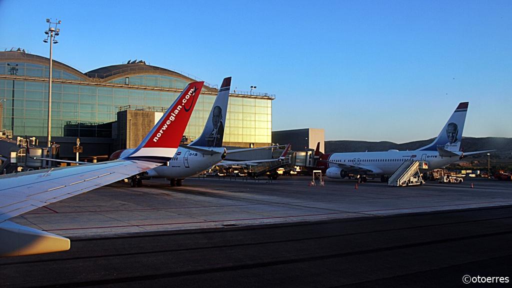 Norwegian - Boeing 737-800 - Alicante Elche Airport - Spania