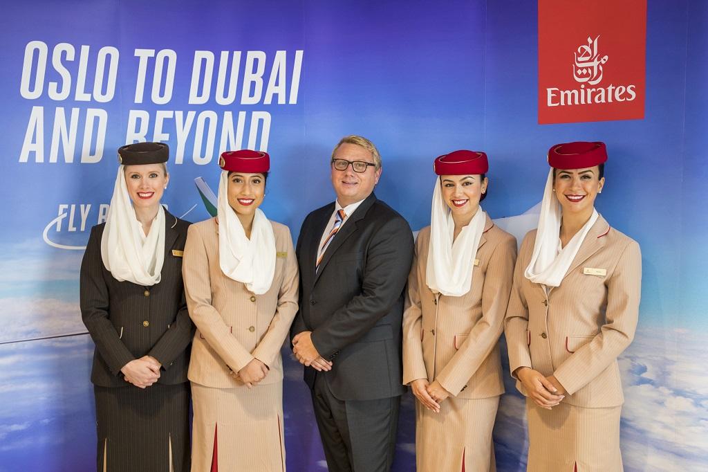 Terje Grue - Emirates - Kabinansatte - 5 år i Norge - 2019