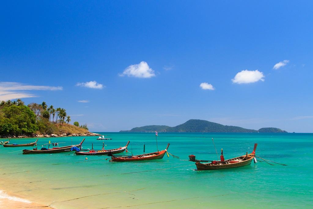 Phuket - Thailand -Long Tail Boats