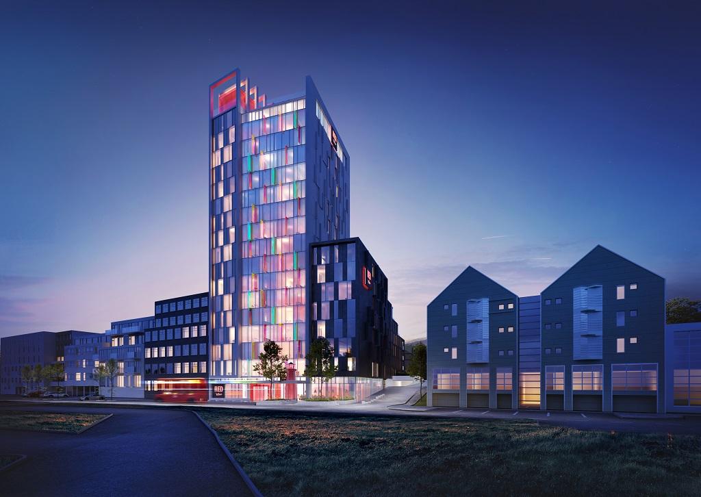 Fasade - Radisson RED Reykjavik
