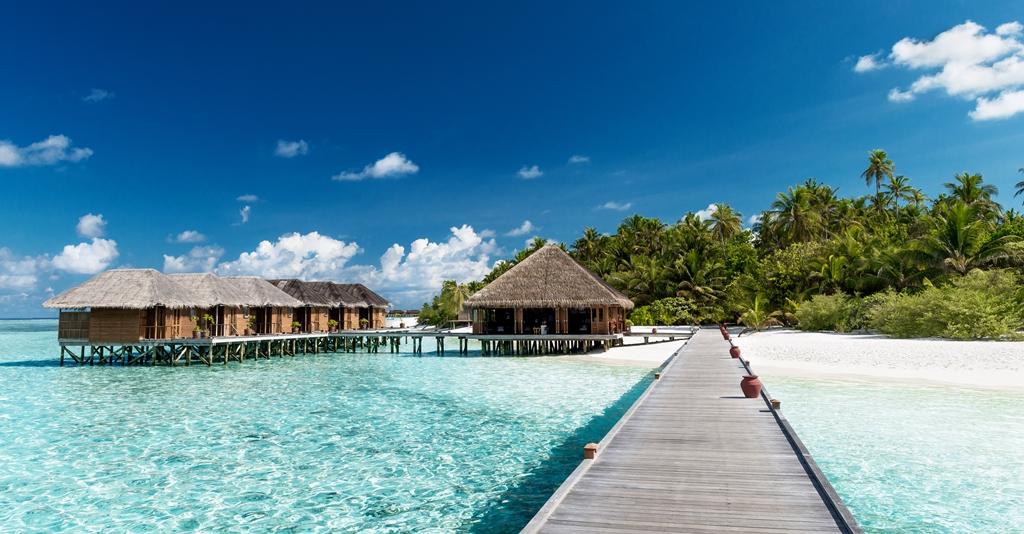 Maldivene - Indiske hav - Strandhytter