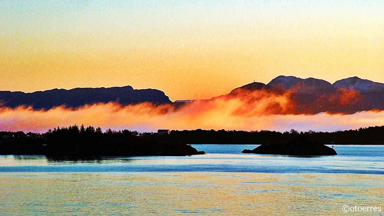 Påske - soloppgang- Horjefjorden - Strandalandet - Lyseheiene - Ryfylke