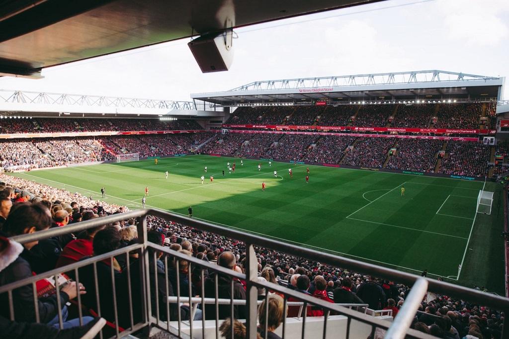 Anfield Road - Liverpool - Hjemmekamp