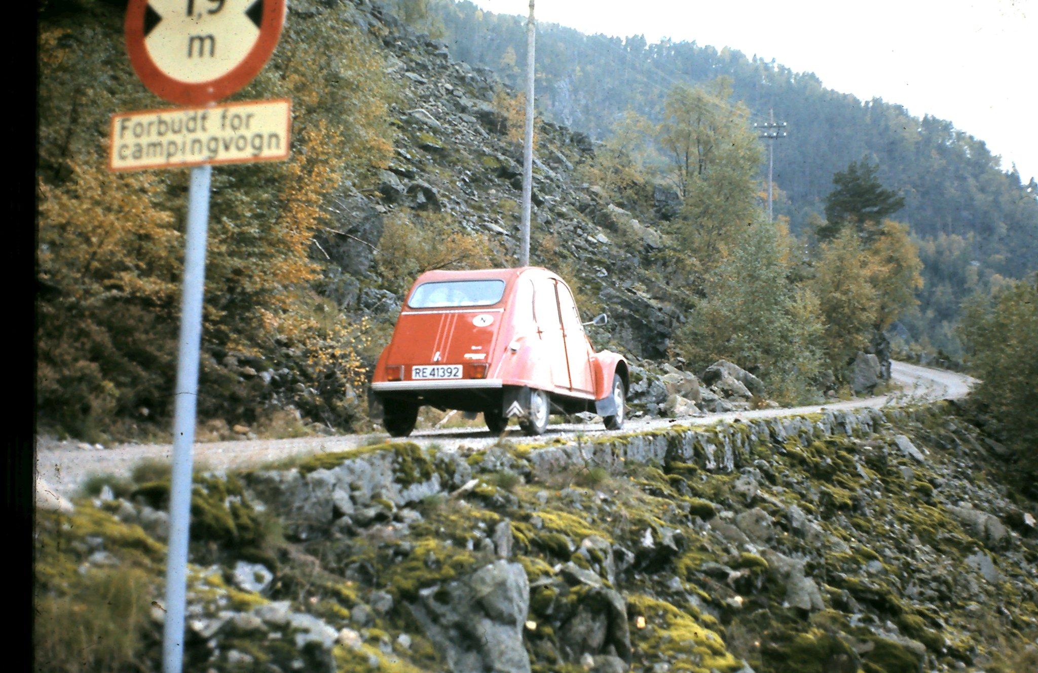 Citroen 2CV - 1973 model - Tronåsen - Rogaland - Vest-Agder