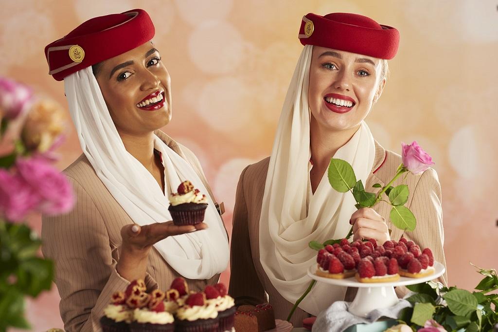 Flyvertinner - Emirates - Valentin - Meny - Flyvninger - 2020