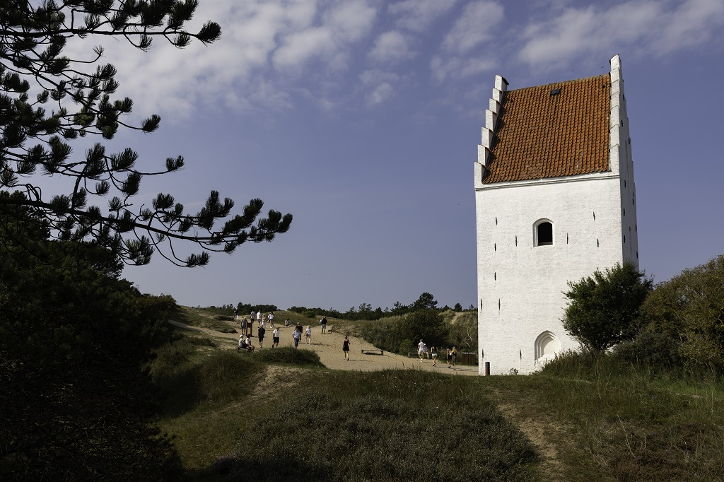 Tilsandede Kirke - Skagen - Nordjylland - Danmark
