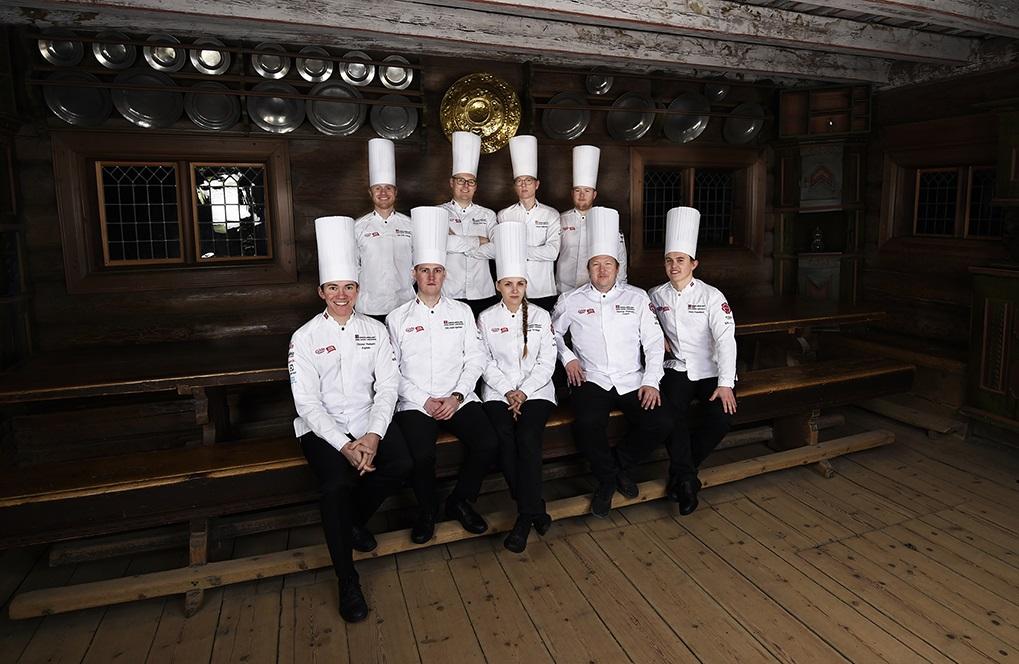 Kokkelandslaget - Kokke OL - Stuttgart - 2020