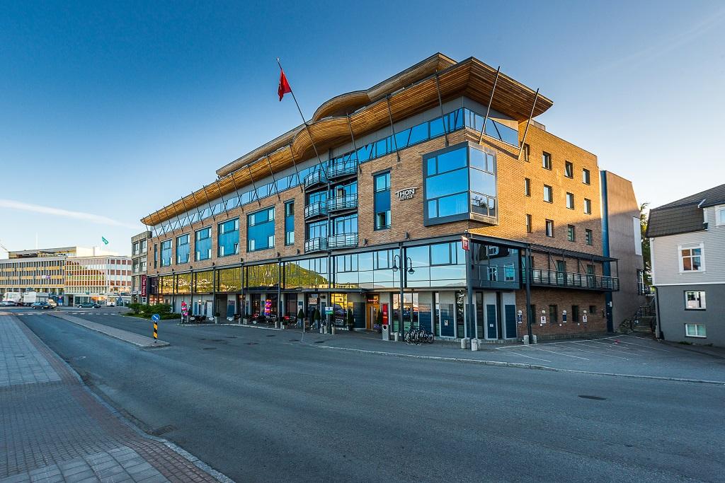 Fasade - Thon Hotel Harstad