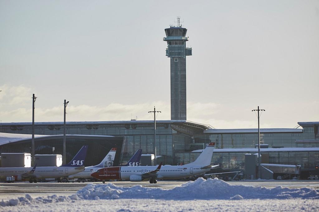 Avinor - Oslo lufthavn - Gardermoen - vinter