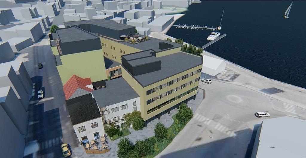 Thon Hotel Harstad - oppussing - utvidelse - 2020