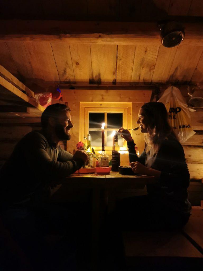 Vinterstemning - Staupådalsbua - Beiarn - Nordland -- Statskog