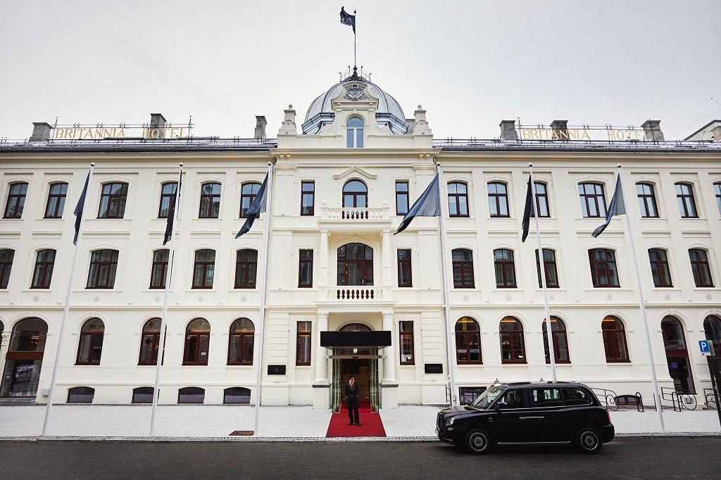 Britannia Hotel Trondheim - London Taxi - fasade