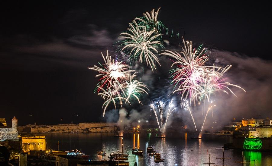 Malta - Fireworks Festival