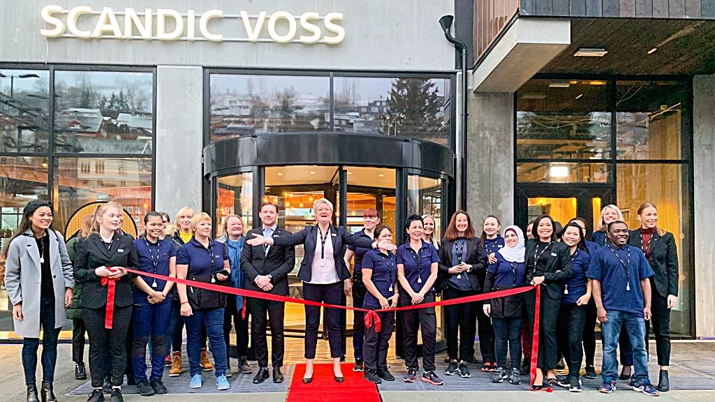 Scandic Voss - Hotell - Åpning - januar 2020