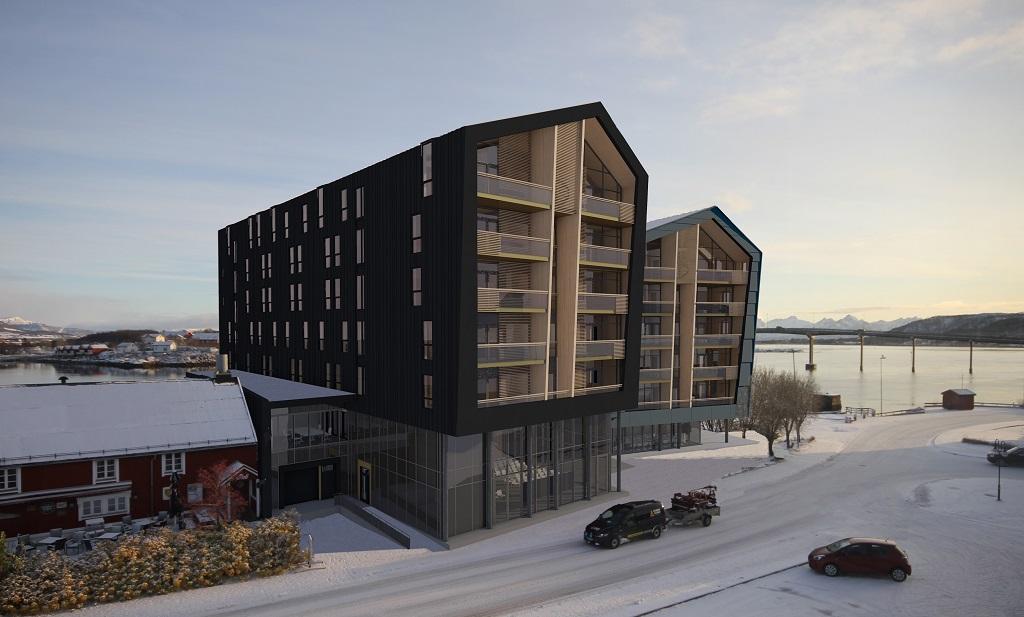 Quality Hotel Richard With - Stokmarknes - Vesterålen - Modell