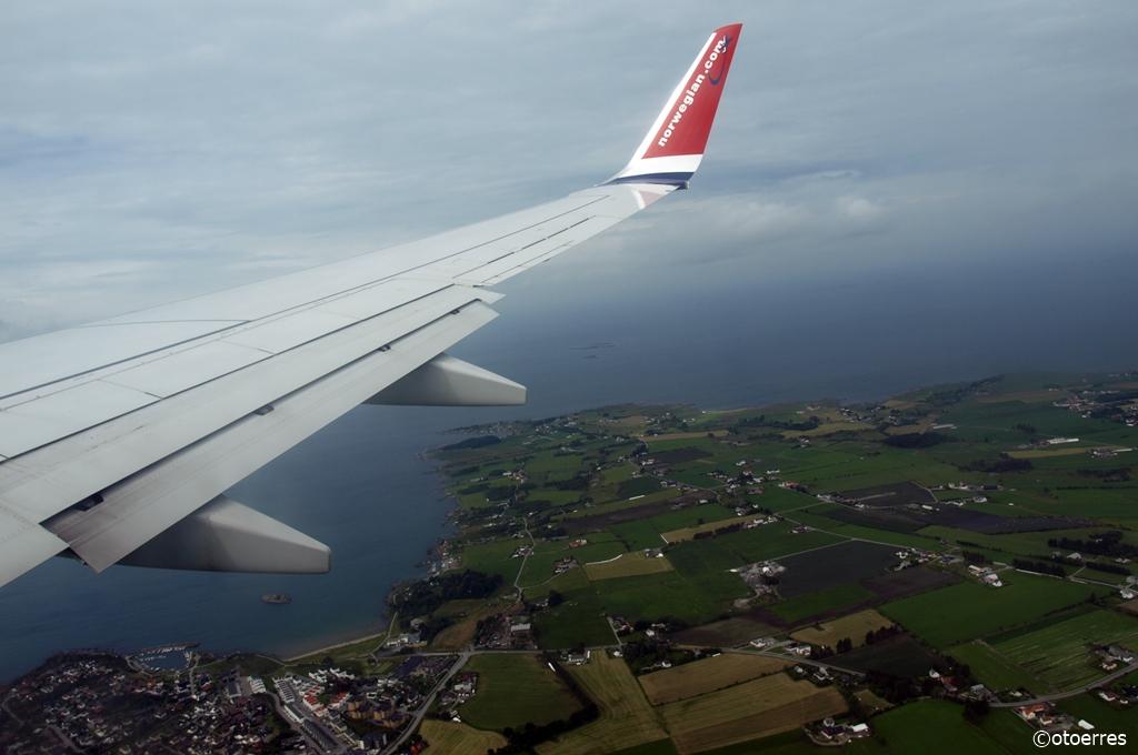 Norwegian - Innflyvning - Randaberg - Goa - Viste