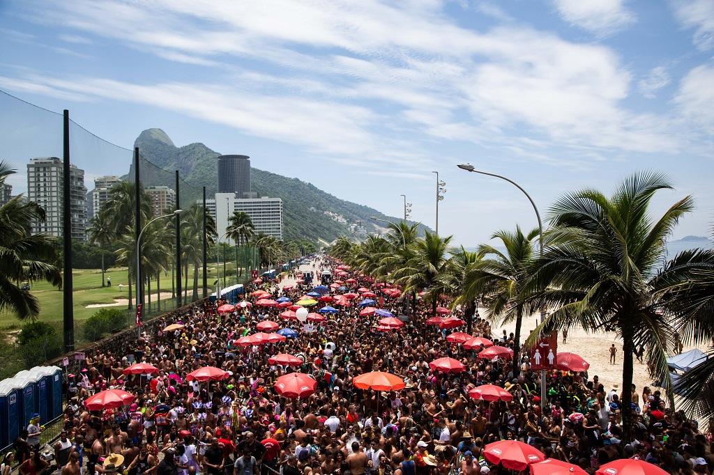 Brasil - Karneval - Rio de Janeiro street Carnival