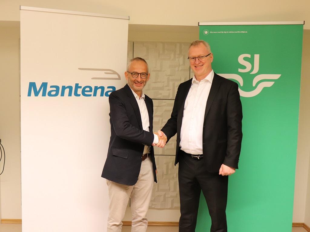 Thomas Silbersky - Kjetil Hovland - Vedlikeholdsavtale SJ Norge - Mantena