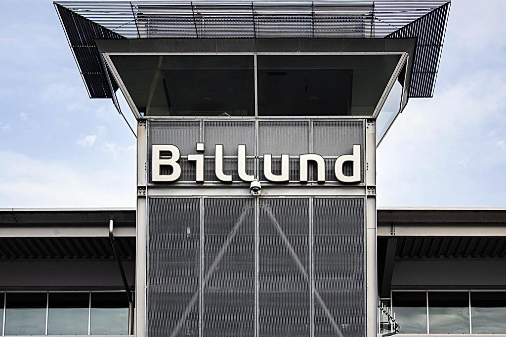 Tårn - Terminalbygg - Billund lufthavn - Jylland - Danmark